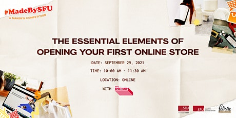 The Essential Elements of Opening your First Online Store tickets