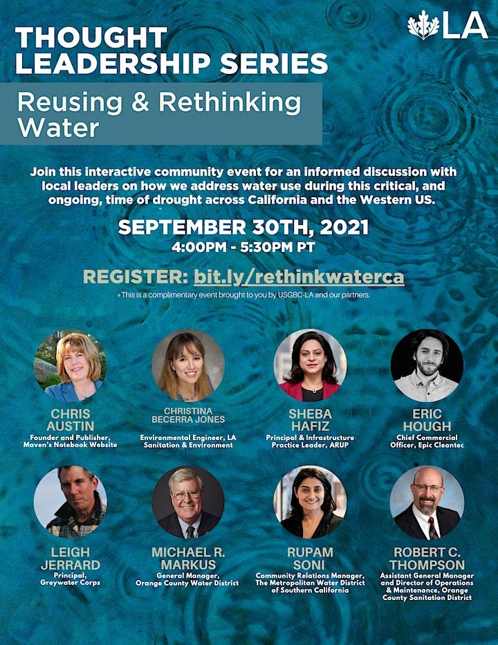 USGBC-LA Thought Leadership Series: Reusing & Rethinking Water image
