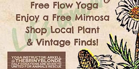 FREE Fall Garden Yoga tickets