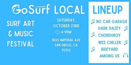 GoSurf Local Lineup tickets