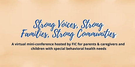 Strong Voices, Strong Families, Strong Communities tickets