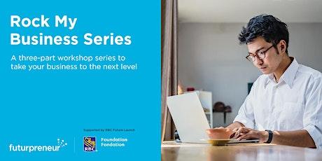 Rock My Business Plan | Manitoba + Saskatchewan + Ontario| Sep. 29, 2021 tickets