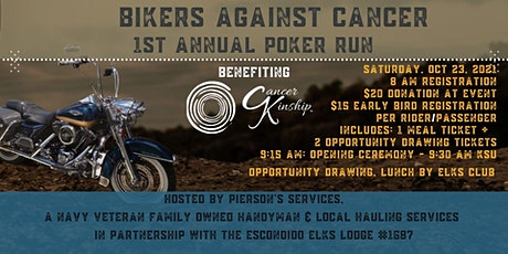 Bikers Against Cancer - Inaugural Fundraising Event tickets