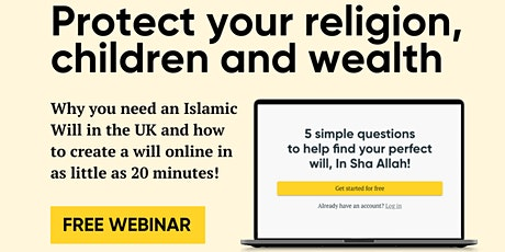 Why you need an Islamic Will in the UK tickets