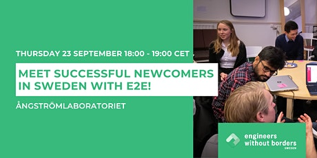 Meet Successful Newcomers in Sweden with E2E! tickets