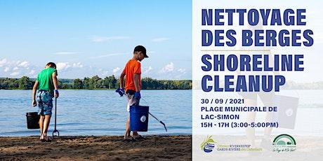 Nettoyage à Lac-Simon // Cleanup in Lac-Simon billets