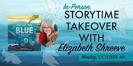 Storytime with Elizabeth Shreeve tickets