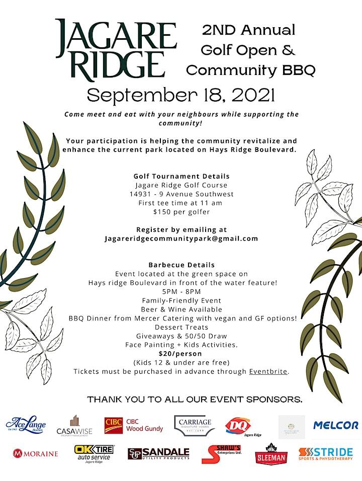 Jagare Ridge Community BBQ image