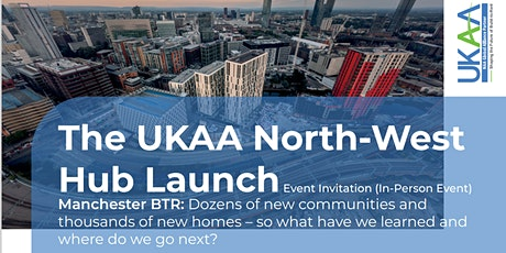 The UKAA North-West Hub Launch Event – Manchester tickets