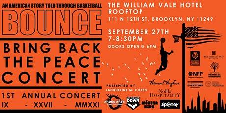 BOUNCE - Bring Back The Peace Concert 2021 tickets