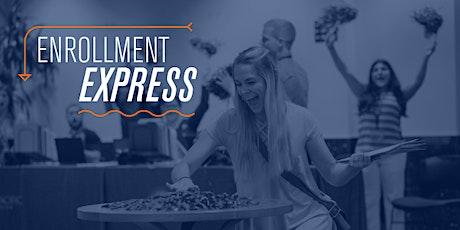Virtual Enrollment Express tickets