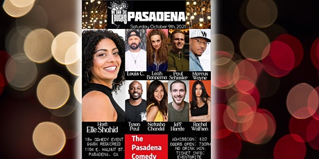 We Own the Laughs @ The Pasadena Comedy - Saturday 10/9 at 8pm tickets