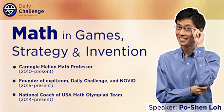 Math in Games, Strategy and Invention | Kansas City, KS | Sep 25, 2021 tickets
