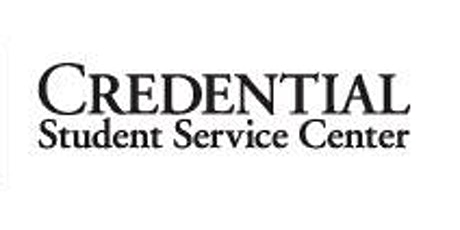 Credential Information Session - Zoom Event 11/3/21 tickets