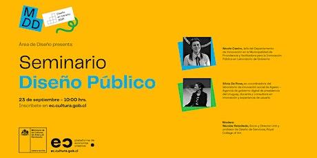 Seminario Diseño Público entradas