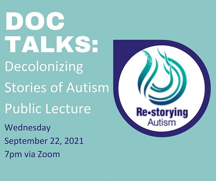 Doc Talks: Decolonizing Stories of Autism image