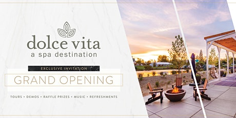 Dolce Vita Grand Opening Celebration Friday, October 8th tickets