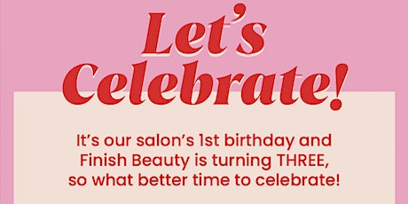 Finish Beauty Party Time tickets
