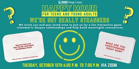 NAMI-OC's Happy Hour: We're Not Really Strangers Game Night tickets
