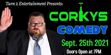 Comedy Festival, Saturday Sept 25th (8pm) @ Corkys in Temple, TX tickets