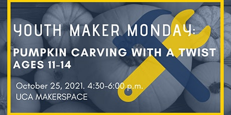 Youth Maker Monday: Pumpkin Carving with a Twist tickets