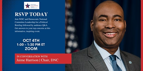 In Conversation with DNC Chair Jaime Harrison tickets