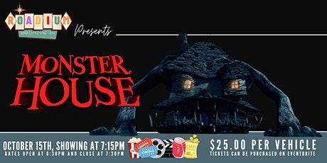 MONSTER HOUSE  - Presented by The Roadium Drive-In tickets