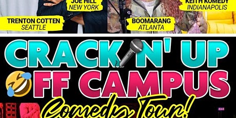 Crackin' Up Off Campus: Comedy Tour LIVE! tickets