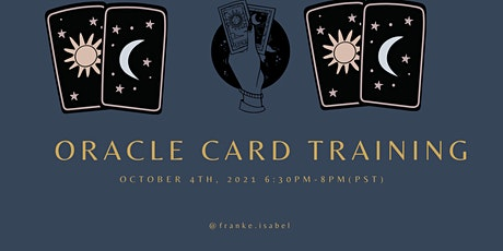 Oracle Card Training tickets