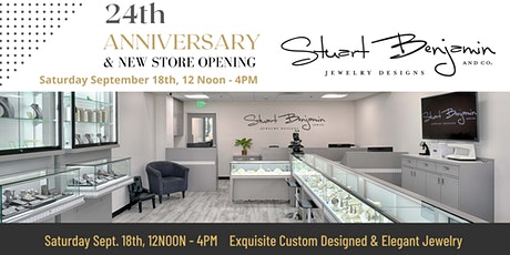 24th Anniversary & New Store Opening Event tickets