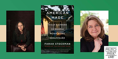 P&P Live! Farah Stockman | AMERICAN MADE with Connie Schultz tickets