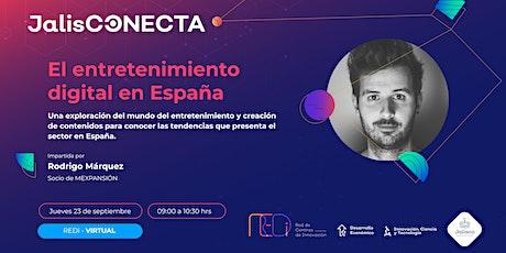 VIRTUAL - El entretenimiento digital en España boletos