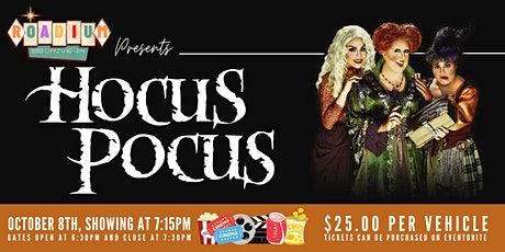 HOCUS POCUS  - Presented by The Roadium Drive-In tickets