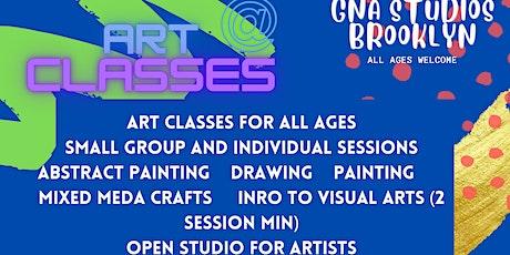 Art Classes in Brooklyn tickets