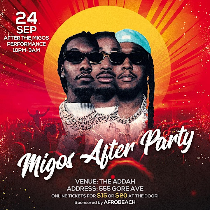 The Migos After Party image