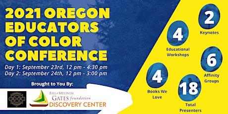 Oregon Educators of Color Conference tickets