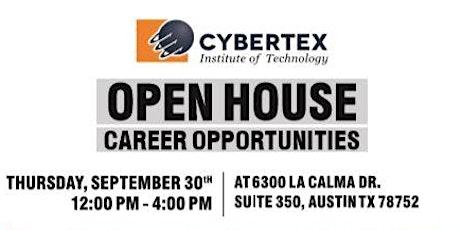 Cybertex-Austin Open House tickets