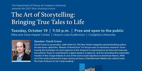 Creighton University 2021 Ross Horning Lecture tickets