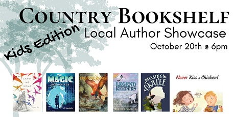 Country Bookshelf Presents: Local Author Showcase - Kids Edition tickets