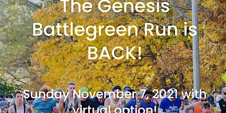 GenesisHR Battlegreen Run – Live and Virtual Options tickets