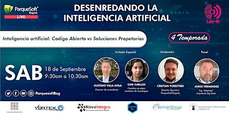 Inteligencia artificial: Codigo Abierto vs Soluciones Propetarias entradas