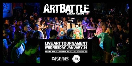 Art Battle Grand Rapids - January 26, 2022 tickets