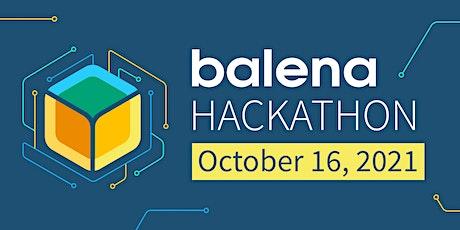 IoT Virtual Workshop & Hackathon with balena entradas