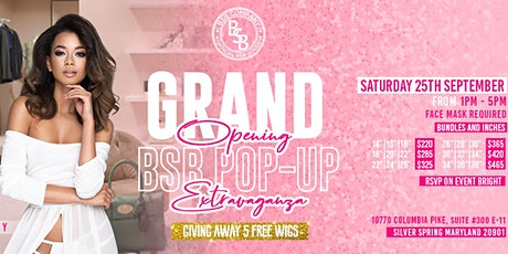 POP-UP-Shop - 5 FREE  Wig Giveaway raffle (Boutique) tickets