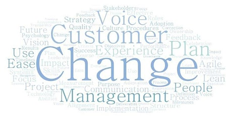 Boston CXPA - Driving Change Management Based on Voice of the Customer tickets