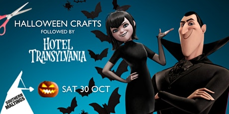 Halloween Craft Activities with FREE film showing of Hotel Transylvania tickets