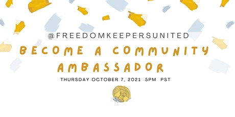 Become a Community Ambassador tickets