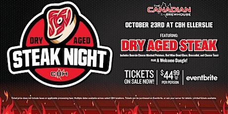 Dry Aged Steak Night (Edmonton - Ellerslie) tickets