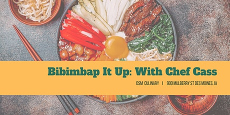 Bibimbap it Up: Korean Cooking tickets