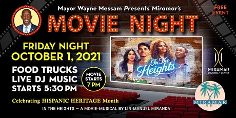 In the Heights Screening Hosted by Mayor Messam tickets